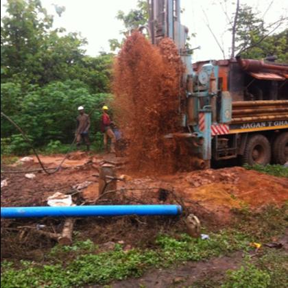 Musa Akura No.II - Maschinelle Bohrung