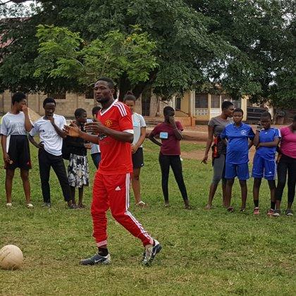 Koordinator. Fußballtrainer.