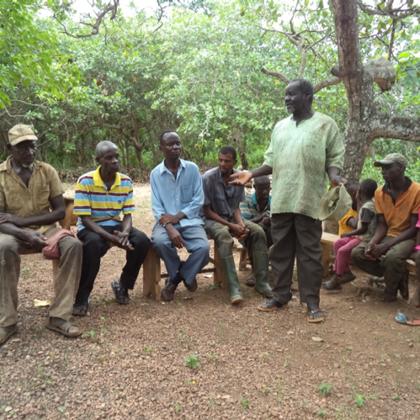 Musa Akura No.II - Bei der Einweihungsfeier wurden mehrere Reden gehalten
