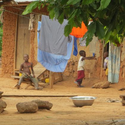 Musa Akura No.II - Kinder aus dem Dorf